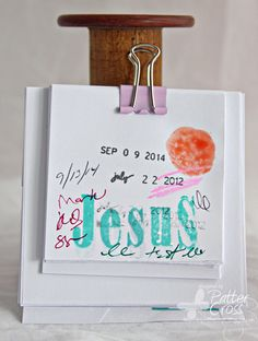 Triple the Scraps: Tuesday's {Tip} Scrap Printer Paper
