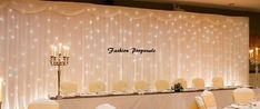 draping wedding Picture - More Detailed Picture about 2017 White Silk Wedding Backdrop Wedding Curtain Backdrop Wedding Drape with LED light,Drape and LED Light For Wedding Picture in Party Backdrops from the best romantic wedding store Curtain Backdrop Wedding, Diy Backdrop Stand, Head Table Backdrop, Ceremony Backdrop, Backdrop Lights, Wedding Backdrops, Wedding Ideas, Wedding Inspiration, Wedding Planning