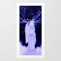 Angel 27 Art Print by Richard J Wise - $17.68