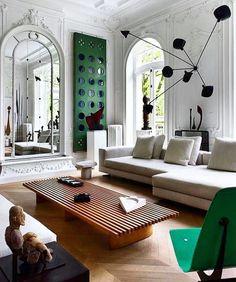 My Living Room, Interior Design Living Room, Living Room Decor, Design Interiors, Art Of Living, Living Spaces, Style Deco, Deco Design, Interior Exterior