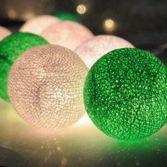 Cotton Ball lights!