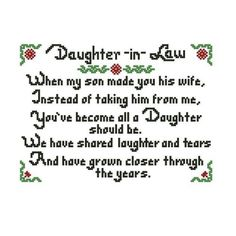 23 Best Daughter in law images | Daughter in law, Law quotes ...