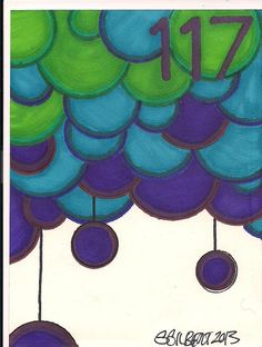 A Doodle A Day #117, ink 4/27/13