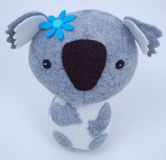 More Cute Critters PDF Sewing Pattern for Easy to by whileshenaps