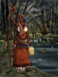 Voodoo Priestess by ~MonkeyDragon on deviantART