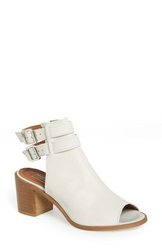 This Topshop bootie is great for spring. Adore the peep-toe and dual buckles.