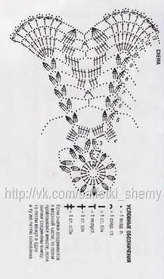 Scheme crochet no. 1905 - Her Crochet Crochet Angel Pattern, Crochet Doily Diagram, Crochet Angels, Crochet Chart, Thread Crochet, Diy Crochet, Crochet Doilies, Crochet Christmas Decorations