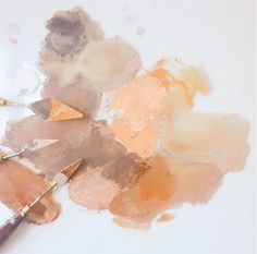 Color Study: Blush Tones Have a great weekend! Arte Gcse, Luminaire Original, Fall Inspiration, Color Studies, Colour Schemes, Color Palettes, Color Theory, Ink Drawings, Texture