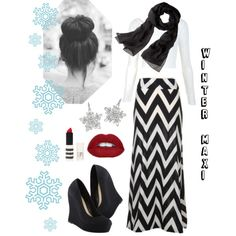 Winter maxi (maybe add a cardi/sweater)