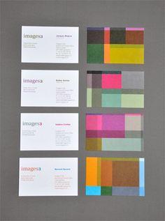 Images3, corporate identity by Nicolas Zentner, via Behance