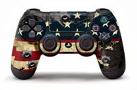 PS4-DualShock-4-Custom-Skin-Designed-by-247Skins  PS4 DualShock 4 Custom Skin Designs by 247Skins Available Now On Amazon