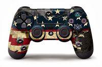 PS4-DualShock-4-Custom-Skin-Designed-by-247Skins  PS4 DualShock 4 Custom Skin Designs by 247Skins Available Now On Amazon