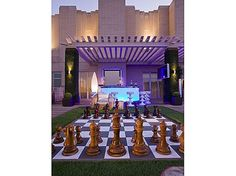 Great entertainment this would make! How about a game of giant chess on this rooftop terrace? #Zillow
