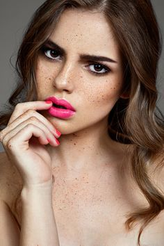 Flirty beauty makeup