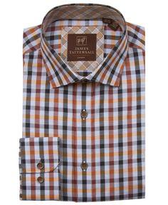 JTW6633-Orange from James Tattersall Clothing