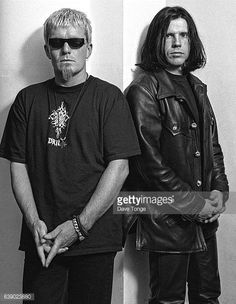 Billy Duffy and Ian Astbury of The Cult Los Angeles United States January 1993