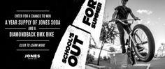 Jones Soda - Win a Diamondback BMX Bike + Soda for a Year - http://sweepstakesden.com/jones-soda-win-a-diamondback-bmx-bike-soda-for-a-year/