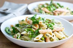 Meatless Mondays: Vegan Spring Pasta with Cashew Alfredo and Roasted Asparagus