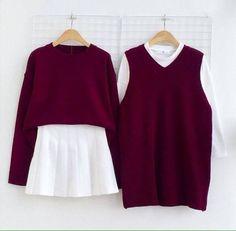 Korean Fashion – How to Dress up Korean Style – Designer Fashion Tips Korea Fashion, Asian Fashion, Girl Fashion, Fashion Outfits, Womens Fashion, Fashion Design, Fashion Ideas, Outfits For Teens, Cool Outfits