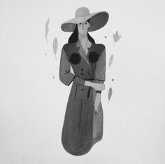 Behance :: Inktober 2015 by Rafael Mayani Flat Illustration, Graphic Design Illustration, Character Inspiration, Character Design, Kawaii Art, White Ink, Illustrators, Sketches, Cartoon