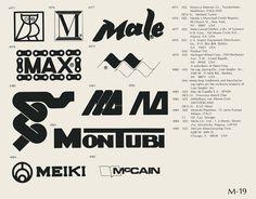 """Logotipos años 70 (""""World of Logotypes"""")"""