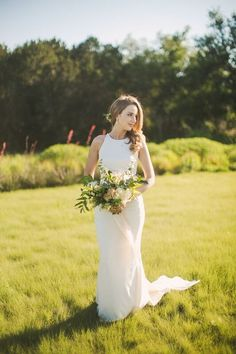 J.Standard | jstandardevents.com | Setting the Highest Standards in Event Production | Spring Outdoor Wedding | Lady Bird Johnson Wildflower Center | Texas Wedding | Bridal Portrait | Bouquet | Wedding Dress | Wedding Pictures