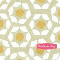 Moonlit Marigold Hexies Yardage <br/>SKU  @fatquartershop #cottonandsteel #remix