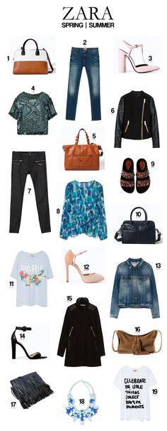 Friday Favorites: Zara Spring/Summer 2014 | www.natalie-dressed.com