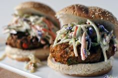 Thai Chicken Burger Recipe
