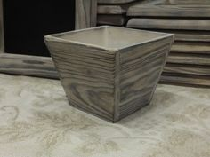 10 Old Rustic Wood Vases  Centerpieces by all4party on Etsy, $60.00