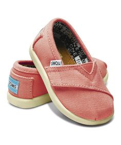 Take a look at this Pink Canvas Classics - Tiny by TOMS on #zulily today!