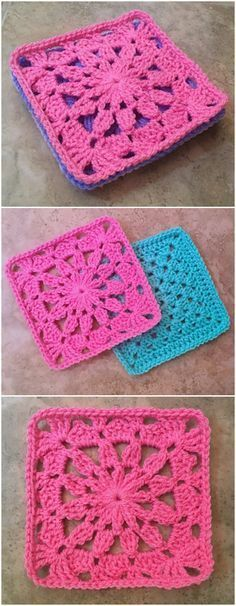 We have gathered a big list of #crochet #Projects that will really inspire you to make crochet Squares patterns with crocheting hooks.Ana Maria Square