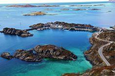 Hamn i Senja/ Foto: Jan-Erik Bergstad/ Fb:Teoms i bilder Norway, Places Ive Been, Beautiful Places, Water, Outdoor, Pictures, Travel, Photo Illustration, Gripe Water
