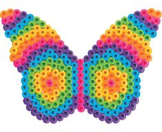 This colorful butterfly surely lives at the edge of the rainbow! Makes a really pretty sun catcher!