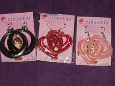 3 New Pairs Of Earrings For The Price Of One $6.99