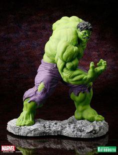 Marvel Comics Hulk Classic Avengers Fine Art Statue 08