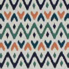 View this multi Upholstery Diamond Fabric by Duralee and browse other colorways and patterns from the Tilton Fenwick Ikat Pattern, Textile Patterns, Pattern Design, Fabric Decor, Fabric Design, Boutique Design, Vector Pattern, Diamond Pattern, Printing On Fabric