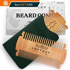 Beard comb for men POCKET comb MUSTACHES comb Wood beard comb SET Wooden mens beard comb Black hair mens combs Dual Bristle Widths ANTI-Static LEATHER case No Curls &Tangles Gift CARD Best deal #Beard #comb #POCKET #MUSTACHES #Wood #beard #Wooden #mens #Black #hair #combs #Dual #Bristle #Widths #ANTI #Static #LEATHER #case #Curls #&Tangles #Gift #CARD #Best #deal