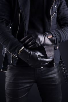 Fancy - Leather Touchscreen Gloves