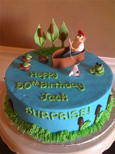 Cake from Jack's 50th birthday