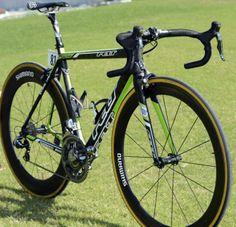 "The 5'11""/180cm Degenkolb rides a 54cm frame"