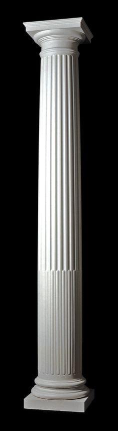 Doric Column Details The Doric Column Is Plain But