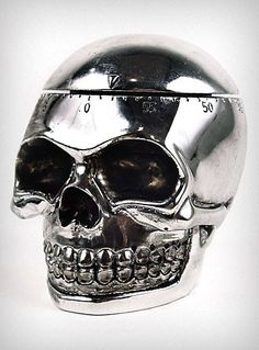 Skull Kitchen Timer