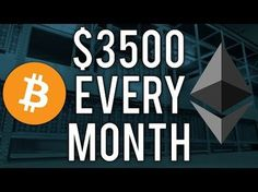 How I Earn $3500 Per Month Mining Cryptocurrency! (Bitcoin, Ethereum, Dash, Litecoin, Monero) - YouTube