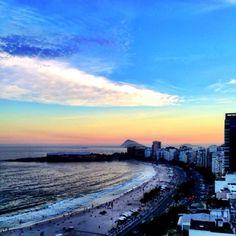 Cores de Copacabana.