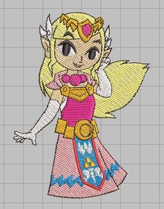 Hey, I found this really awesome Etsy listing at https://www.etsy.com/listing/526685073/zelda-machine-embroidery-design-princess