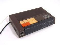 Tested Vintage Toshiba Digital Clock Radio Am FM Two Band RC 7100 Brown Snooze   eBay