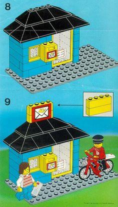 City - Post Office [Lego 6689]
