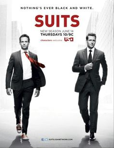 USA Network Original Series - Suits stars Patrick J. Adams as Michael Mike Ross and Gabriel Macht as Harvey Specter working at a law firm in NYC. Serie Suits, Suits Tv Series, Suits Tv Shows, Series Movies, Gabriel Macht, Harvey Specter, Specter Suits, Suits Usa, Harvey Donna