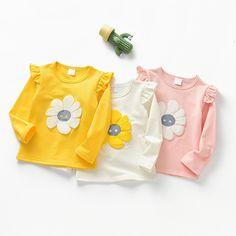 Mother & Kids Flower Baby Sleepwear Toddler Soft Cotton Pajamas Long Sleeve Floral Print Causal Newborn Overall Headband Elegant And Graceful